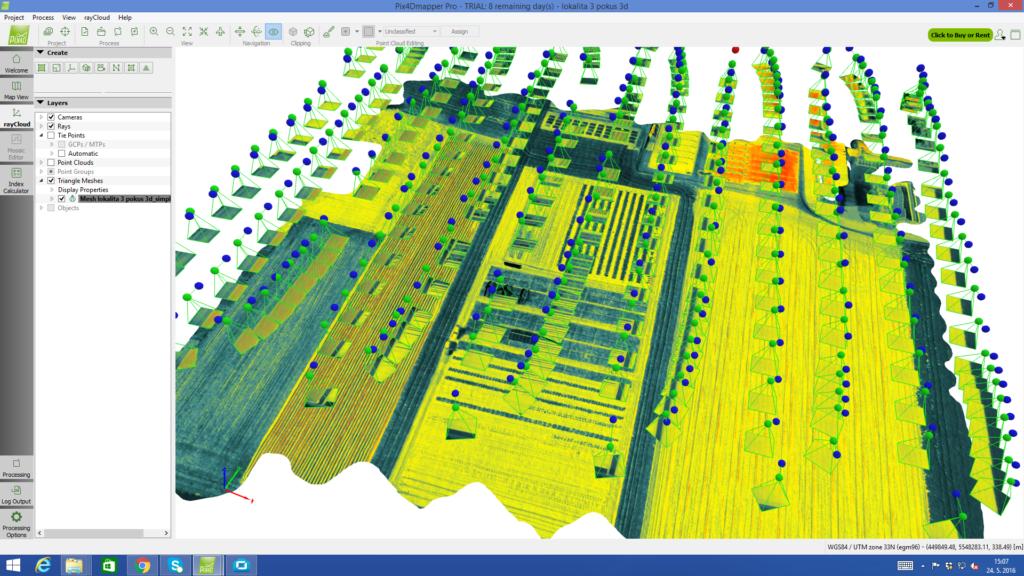 S použitím nejmodernější senzorové techniky poskytujeme svým klientům letecká data